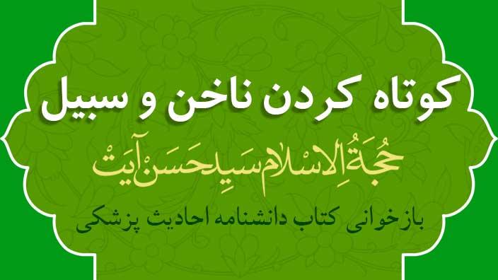 كوتاه كردن سبيل و ناخن - حجت الاسلام سید حسن آیت